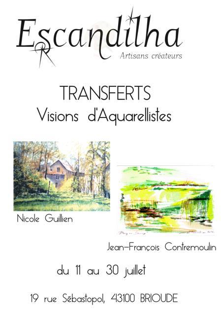 Festival Aquarelle Brioude – Juillet 2017