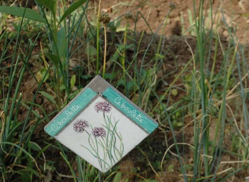 Étiquettes de jardin