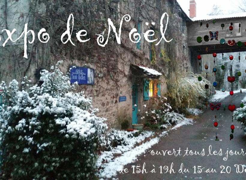 Expo Noël 2017 – Ateliers d'Art Nicole Guillien