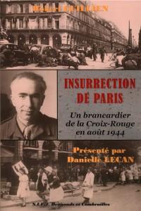 """Couverture du livre """"L'insurrection de Paris"""" par Robert GUILLIEN"""